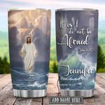 Jesus Walking On Water Personalized KD2 HRX1201007Z Stainless Steel Tumbler