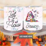 Personalized Yoga Meditation Let It Flow TTM1201010Z Full Color Ceramic Mug