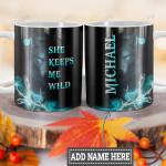 Personalized Wolf Man HLM1201007Z Full Color Ceramic Mug