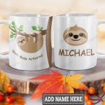Personalized Sloth Mode HLM1201005Z Full Color Ceramic Mug