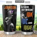 Skull Personalized PYR1301012Z Stainless Steel Tumbler