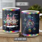 Personalized Hippie Gnome TTZ1301014Z Full Color Ceramic Mug