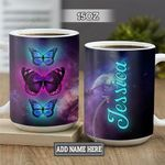 Personalized Butterfly PYZ1301009Z Full Color Ceramic Mug