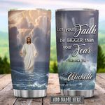 Jesus Walking On Water Personalized KD2 HRX1301004Z Stainless Steel Tumbler