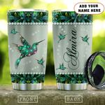 Metal Style Green Jewelry Hummingbird Personalized KD2 HAL1301007Z Stainless Steel Tumbler