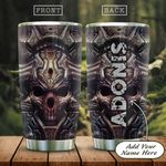 Head Skull Personalized KD2 HAL1301005Z Stainless Steel Tumbler