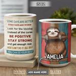 Sloth Personalized PYR1201003Z Full Color Ceramic Mug