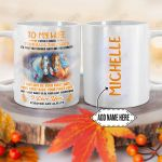 Personalized Horse To My Wife DNM1101009Z Full Color Ceramic Mug