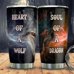 Wolf Dragon DNM1401009Z Stainless Steel Tumbler