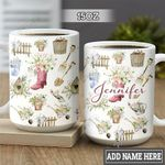 Personalized Gardening Stuffs HLM1401001Z Full Color Ceramic Mug