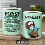 Black Nurse KD4 Personalized THA1401009Z Full Color Ceramic Mug