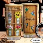 Hummingbird Bible Personalized THA1401014Z Stainless Steel Tumbler