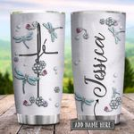 Dragonfly Fe Jewelry Style Personalized KD2 HRX1401005Z Stainless Steel Tumbler