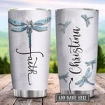 Dragonfly Faith Jewelry Style Personalized KD2 HRX1401004Z Stainless Steel Tumbler