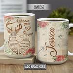 Personalized Deer Couple I Choose You BGZ1401017Z Full Color Ceramic Mug