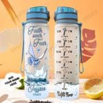 Personalized Faith Butterfly TTZ1401001Z Water Tracker Bottle