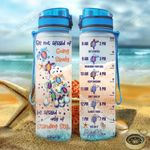 Baby Turtles Motivation KD2 HAL1401006Z Water Tracker Bottle