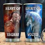 Viking Ragnar Wolf DNM1501007Z Stainless Steel Tumbler