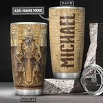 Ancient Egypt Gods Personalized HHA1501001Z Stainless Steel Tumbler