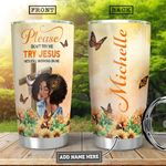 BW Jesus KD4 Personalized HHA1501002Z Stainless Steel Tumbler