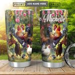 Chicken Farm Personalized HHA1501003Z Stainless Steel Tumbler