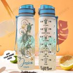 Personalized Turtle TTZ1501005Z Water Tracker Bottle