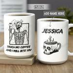 Personalized Coffee Skull BGZ1501011Z Full Color Ceramic Mug