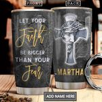 Jesus Faith Silver Style Personalized NNR1501008Z Stainless Steel Tumbler