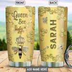 Queen Bee Jewelry Style Personalized NNR1501009Z Stainless Steel Tumbler