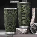 Sea Turtle Celtic Style Personalized KD2 HRX1501003Z Stainless Steel Tumbler