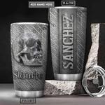 Celtic Skull Metal Style Personalized KD2 HRX1501001Z Stainless Steel Tumbler