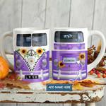 Purple Hippie Van Personalized KD2 HAL1501013Z Full Color Ceramic Mug