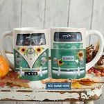 Horse Hippie Van Personalized KD2 HAL1501010Z Full Color Ceramic Mug