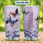 Abstract Art Butterfly Personalized KD2 MAL1501017Z Stainless Steel Tumbler