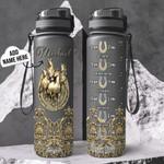 Personalized Horse TTZ1401012Z Black Water Tracker Bottle