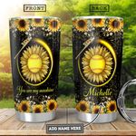 Softball Personalized HHA1801020Z Stainless Steel Tumbler