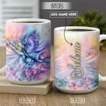 Rainbow Butterfly Personalized NNR1801002Z Full Color Ceramic Mug