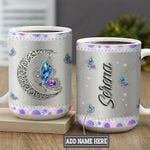 Metal Style Jewelry Butterfly Personalized KD2 MAL1801013Z Full Color Ceramic Mug
