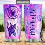 Personalized Butterfly Dreamcatcher DNM1901003Z Stainless Steel Tumbler