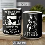 Personalized Horse Lover TTZ1901015Z Full Color Ceramic Mug