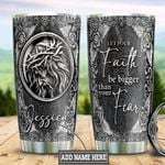 Personalized Faith Silver Style TTZ1901010Z Stainless Steel Tumbler
