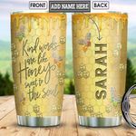 Bee Personalized NNR1901001Z Stainless Steel Tumbler