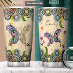 Butterfly Faith Personalized PYR1901004Z Stainless Steel Tumbler