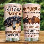 Wiggle Dachshund At Home KD2 HNL1901015Z Stainless Steel Tumbler