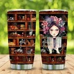 Book And Cat In My Heart KD2 MAL1901009Z Stainless Steel Tumbler