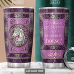 Celtic Horse Personalized NNR2001008Z Stainless Steel Tumbler