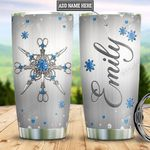 Personalized Hair Artist Metal Style DNM2001004Z Stainless Steel Tumbler