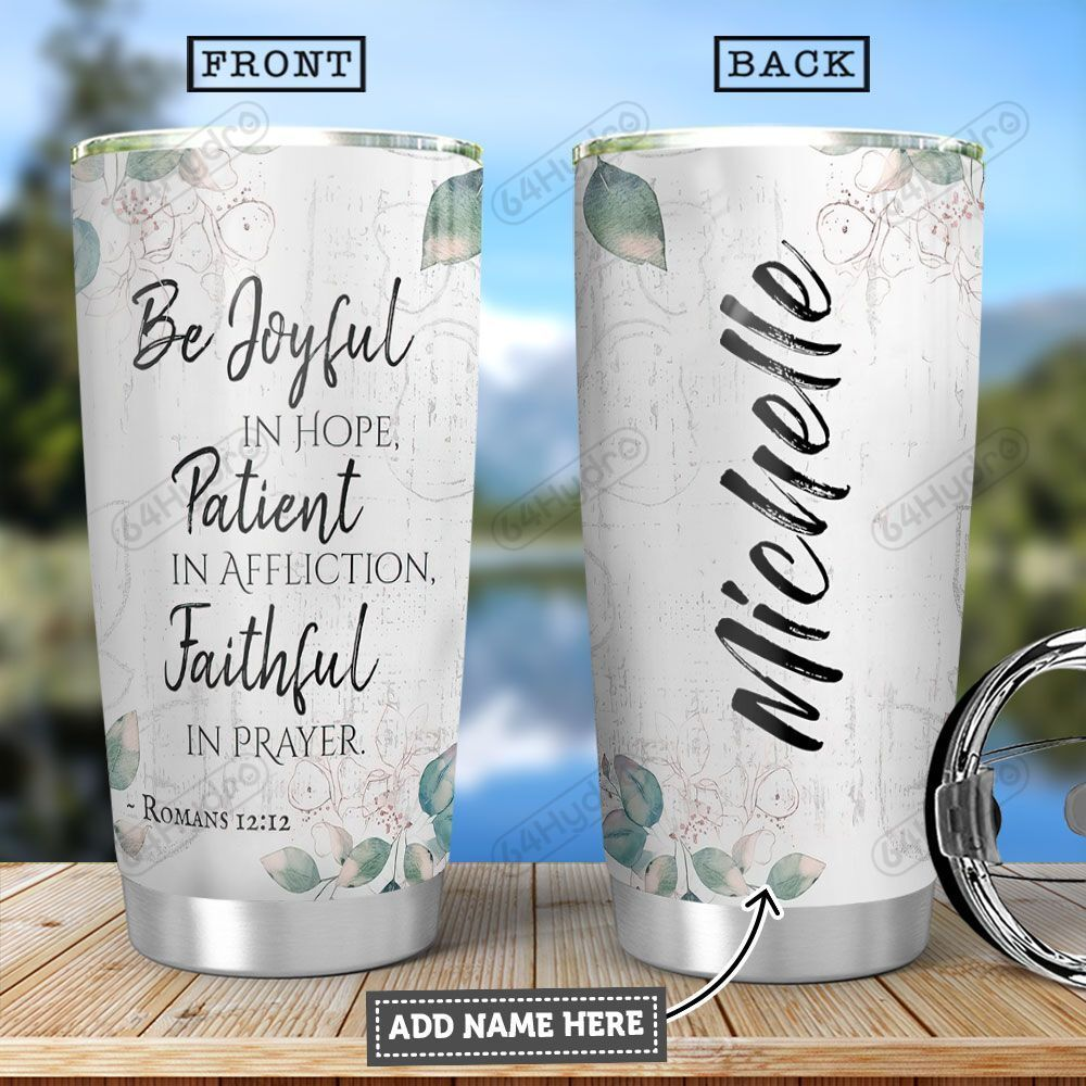 Bible KD4 Personalized HHA2001001Z Stainless Steel Tumbler