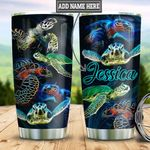 Personalized Turtle TTZ2001019Z Stainless Steel Tumbler