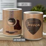 Personalized Acoustic Guitar BGZ2101008Z Full Color Ceramic Mug